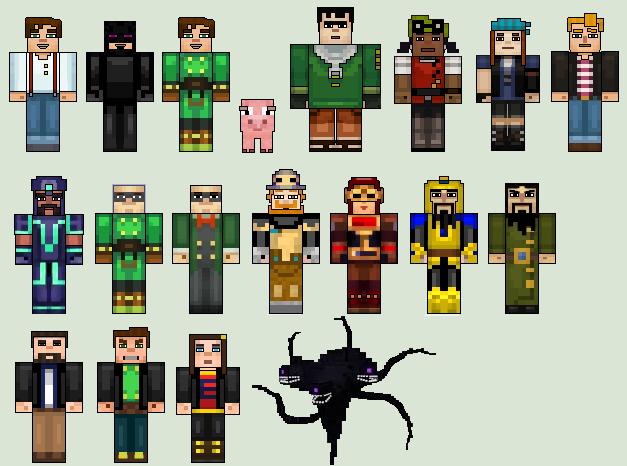 Minecraft Story Mode Episodes 1 4 By Stuart1001 On Deviantart