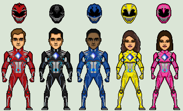 Saban's Power Rangers (2017) WIP by Stuart1001