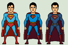 Superman in movies by Stuart1001