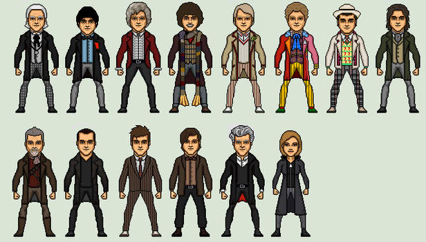 Evolution Of The Doctors