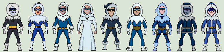 Evolution of Captain Cold Animated