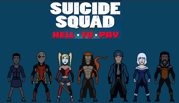 Suicide Squad Hell To Pay By Stuart1001 On Deviantart