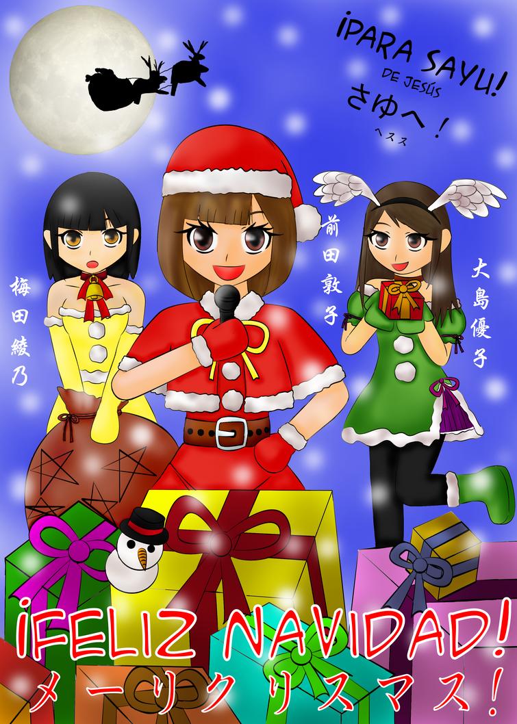 Regalo Navidad - Christmas present - 2012- AKB48 by kioker