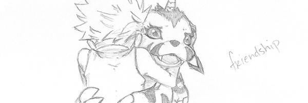 Digimon - friendship by soratarded