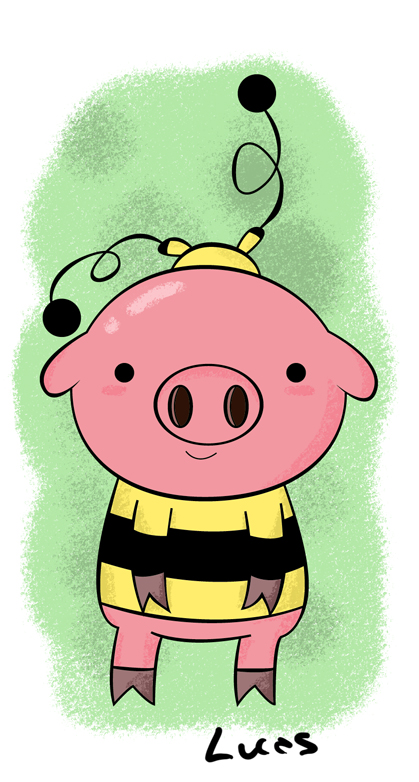 pig bee by lucascvlcnt