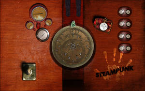 Steampunk Desk Disc by inception8
