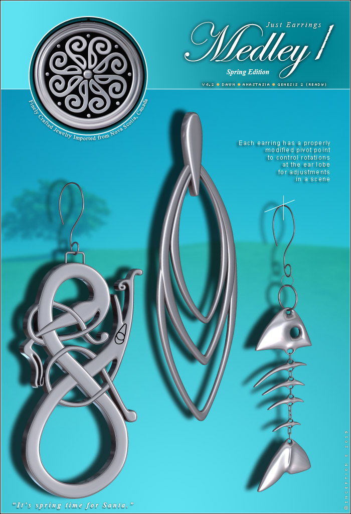 Just Earrings - Medley 1  P2 by inception8