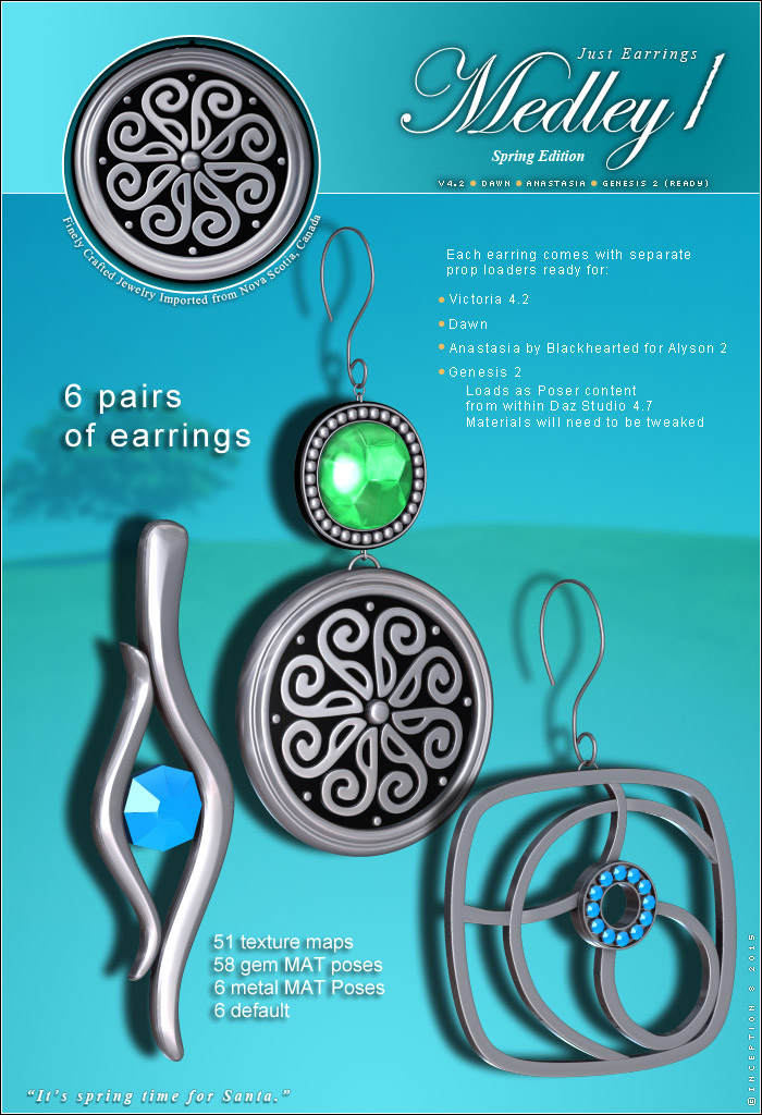 Just Earrings - Medley 1  P3 by inception8