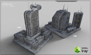 Future Cityscape Density Blocks 03