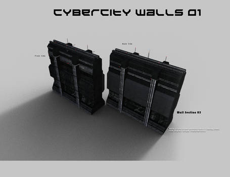 CyberCity Walls 01 Daz Promos 05