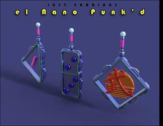 Just Earrings el Nano Punkd