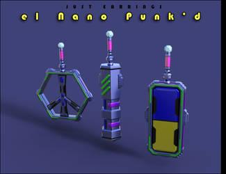 Just Earrings el Nano Punkd 02