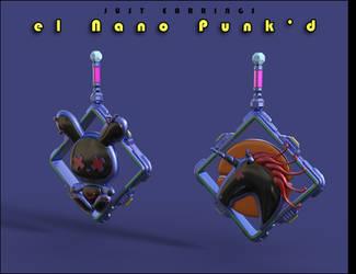 Just Earrings el Nano Punkd 04