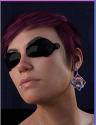 Just Earrings el Nano Punkd Main 01