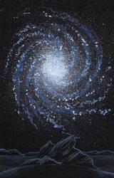Extragalactic world by Axel-Astro-Art