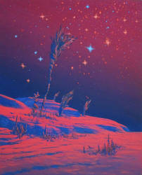 Ares' secret garden by Axel-Astro-Art