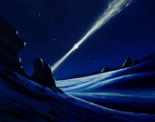 Pulsar planet by Axel-Astro-Art