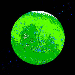Green Mars by Axel-Astro-Art