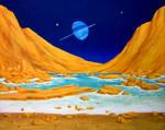Tritonian beach