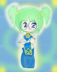 Chibi Linear Art by Minako123a