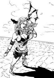 Khaleesi by RossoWinch