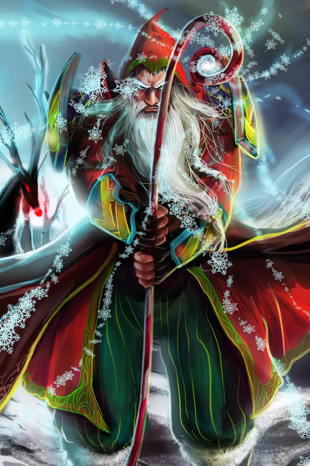 Santa claus by rossowinch on deviantart