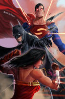 DC Trinity by RossoWinch