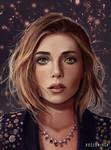 Elizabeth Olsen- Portrait Study