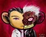 twoface by bloodlustattoo
