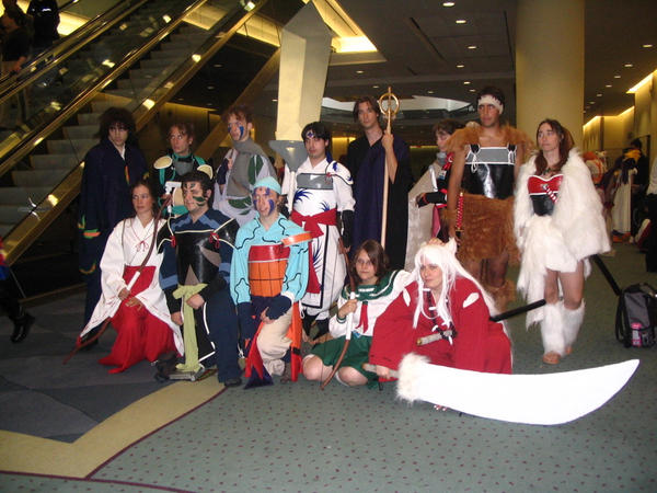 Inuyasha cosplay group 2006 by LaMisere on DeviantArt