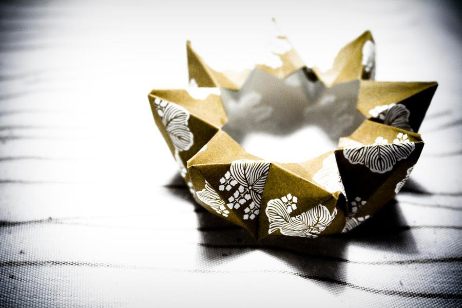 Origami flower box by ilash on deviantart mightylinksfo