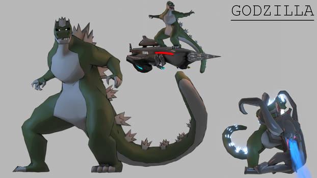 All Monsters Attack - Godzilla