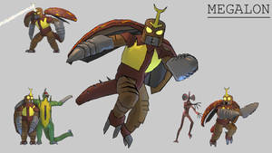 All Monsters Attack - Megalon