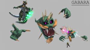 All Monsters Attack - Gabara
