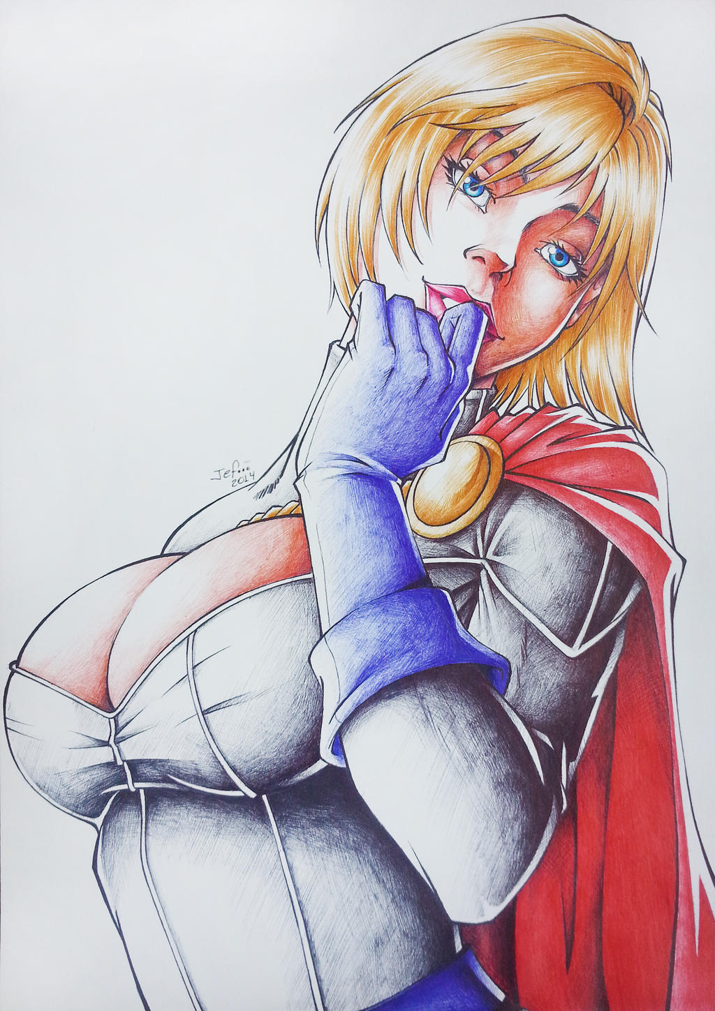 Power Girl (03) by JefersonSantos