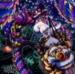 Traditional Dragon Race Festival by OAD-art