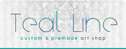 Teal Line - IMVU display pictures by Evolemon