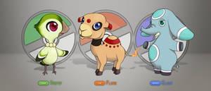Pokemon Starters
