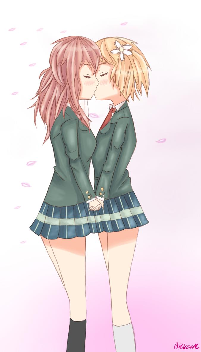 sakura trick kiss me!akkorde on deviantart