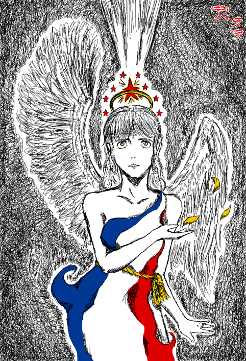 APH: My Flag is My Glory by derara-isis