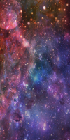 Space Custom Box Background