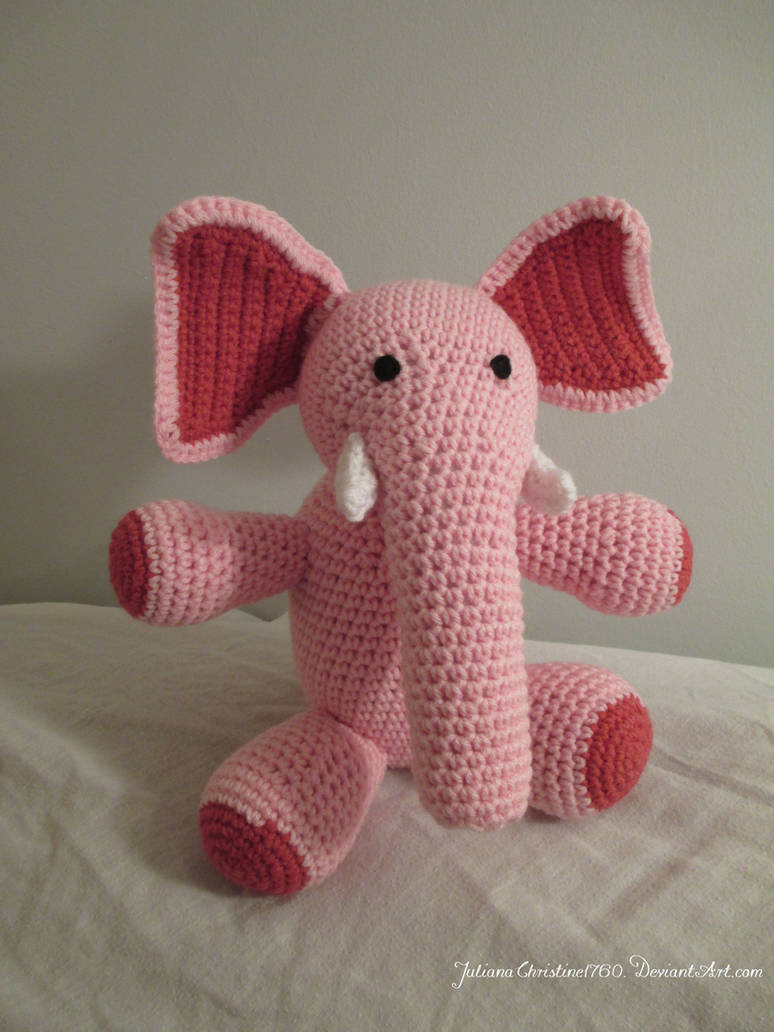 Crochet Woolly Mammoth Tutorial - Crochet Applique Tutorial - YouTube   1032x774