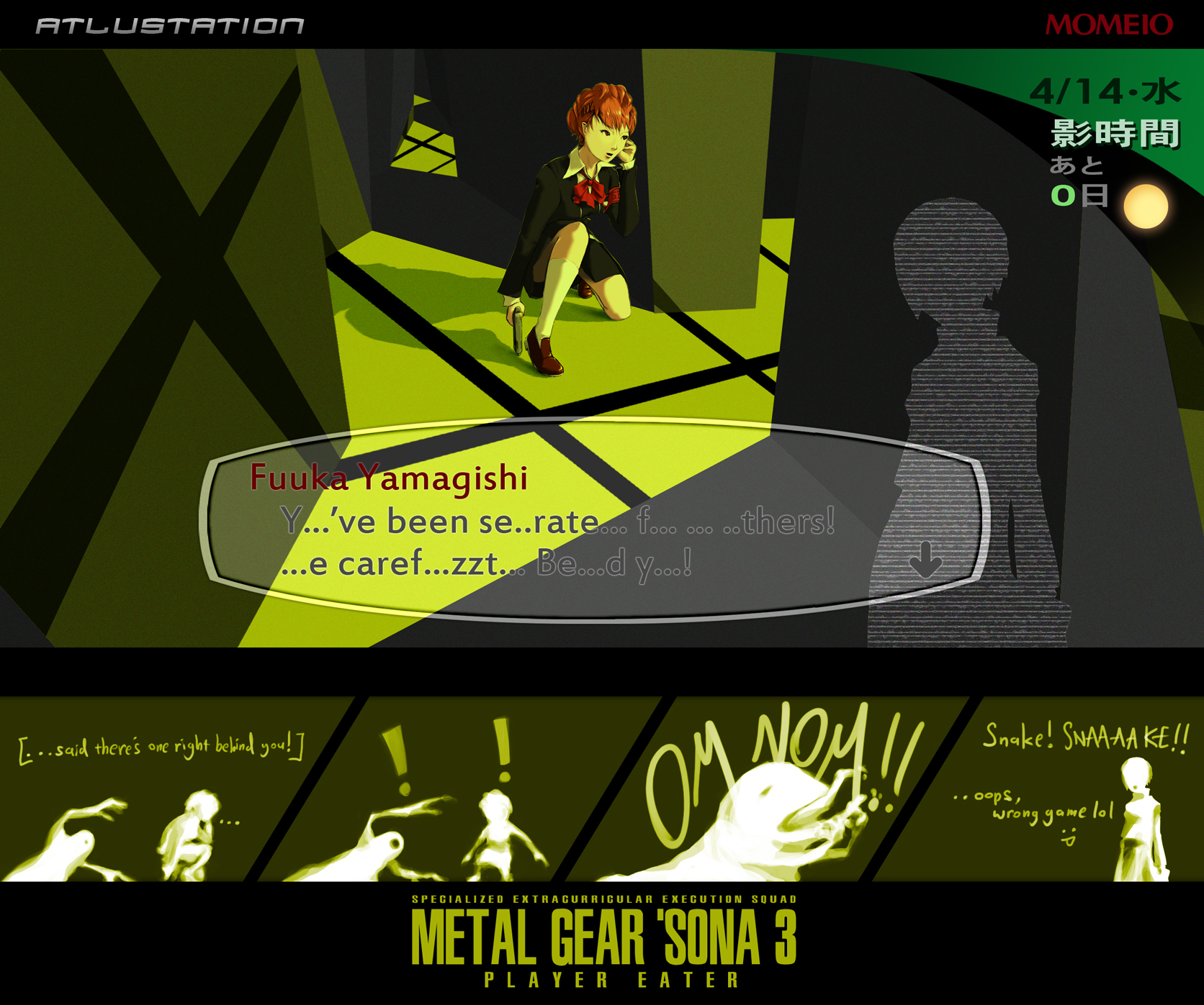 Metal Gear 'Sona 3 by mometasone
