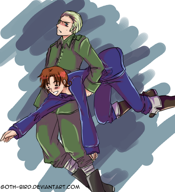 APH :: To Safety by goth-bird