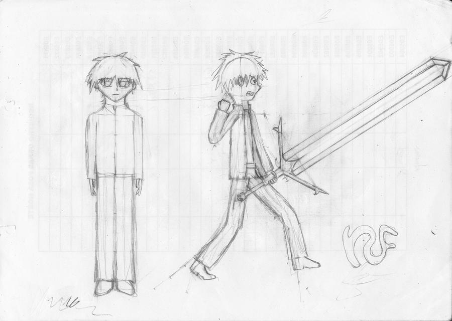 HRS: Mitsuru Kanna (Sketch) by Zetastrophenow