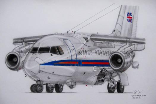 Royal Air Force, BAe-146 CC.Mk 2 'Statesman'