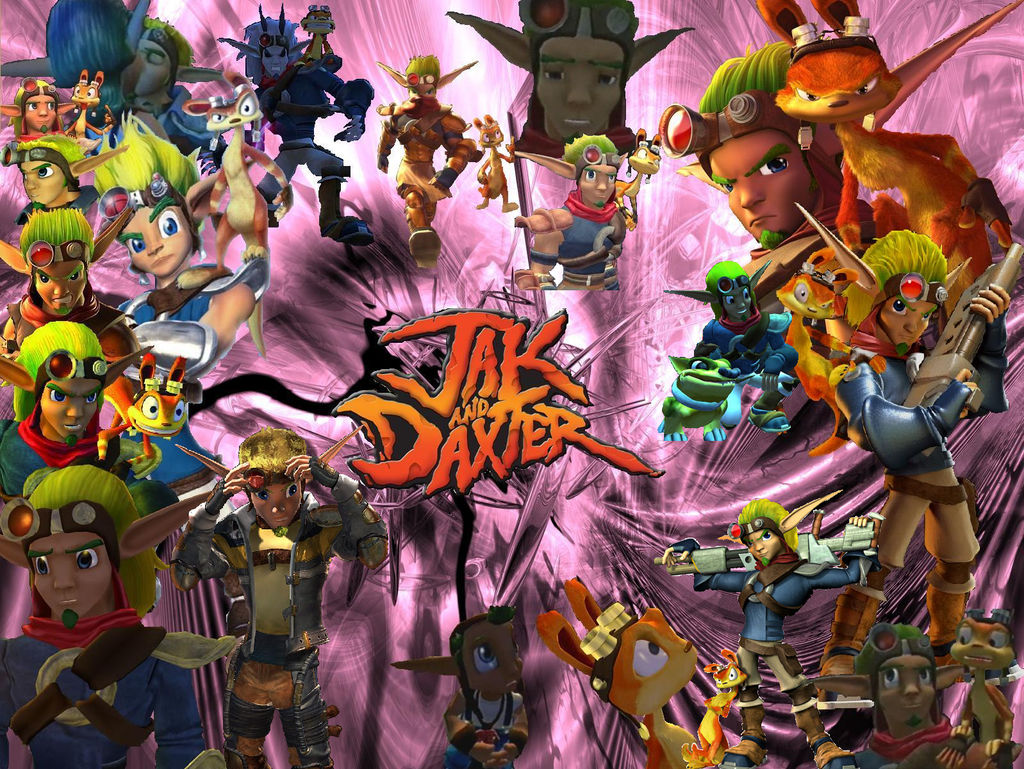 Jak and Daxter Wallpaper :D