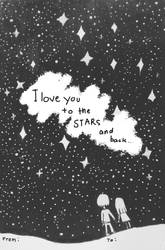 I love you to the STARS and back by LegionEllen