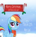 Rainbow Dash  Merry Holidays