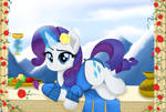 Rarity The Goddess by TheRETROart88